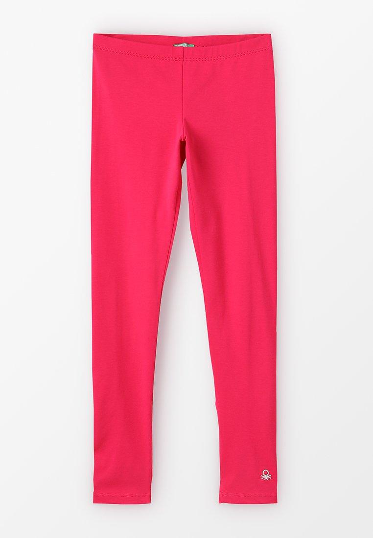 Benetton - BASIC - Leggings - Trousers - pink