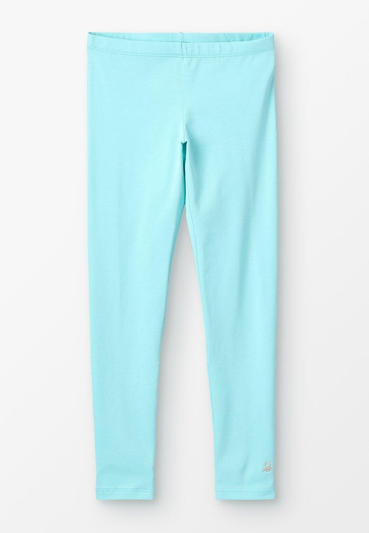 Benetton - BASIC - Leggings - light blue