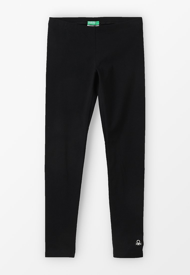 Benetton - BASIC - Legginsy - black