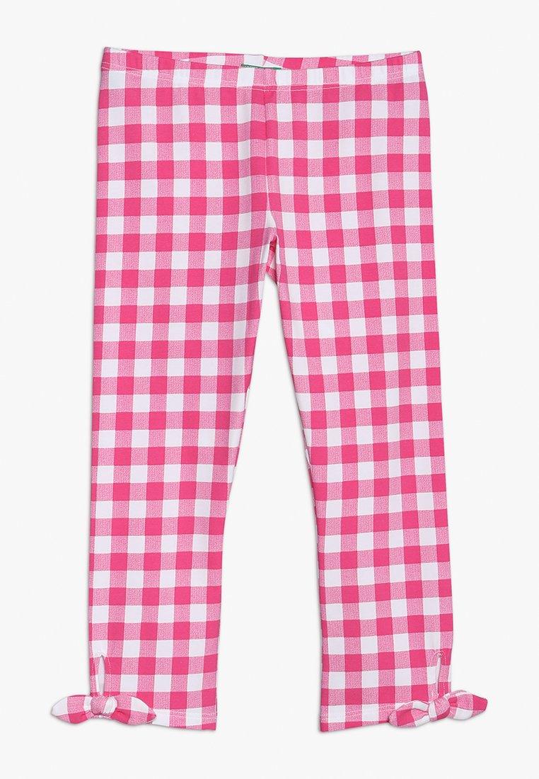 Benetton - Leggings - pink/white