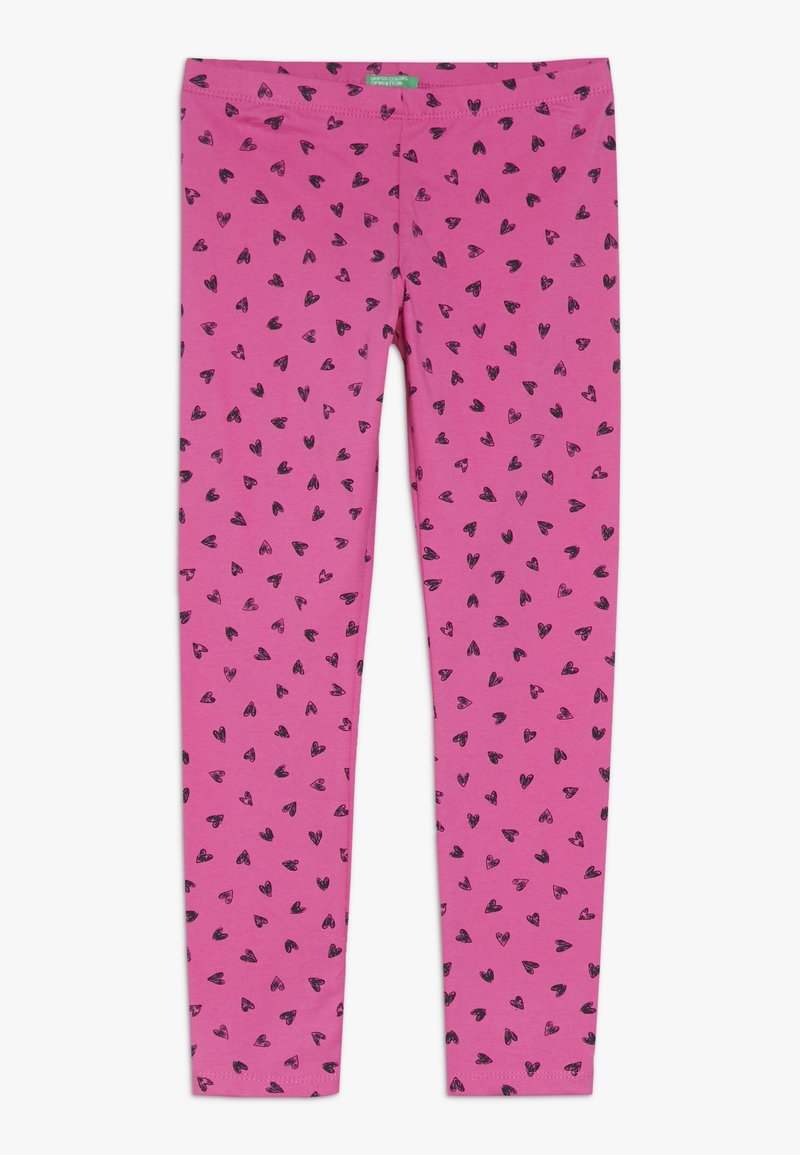 Benetton - Leggings - Trousers - pink