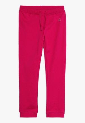 TROUSERS - Teplákové kalhoty - red