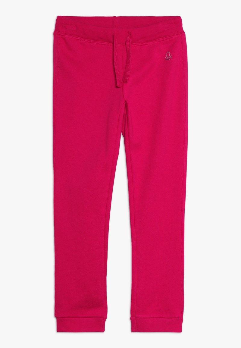 Benetton - TROUSERS - Teplákové kalhoty - red