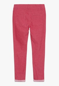 Benetton - TROUSERS - Spodnie materiałowe - red - 1