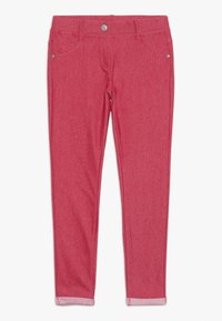 Benetton - TROUSERS - Spodnie materiałowe - red - 0