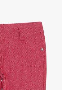 Benetton - TROUSERS - Spodnie materiałowe - red - 3