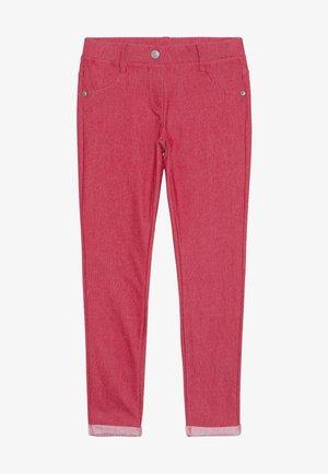 TROUSERS - Pantaloni - red