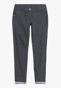 Benetton - TROUSERS - Spodnie materiałowe - dark blue - 0