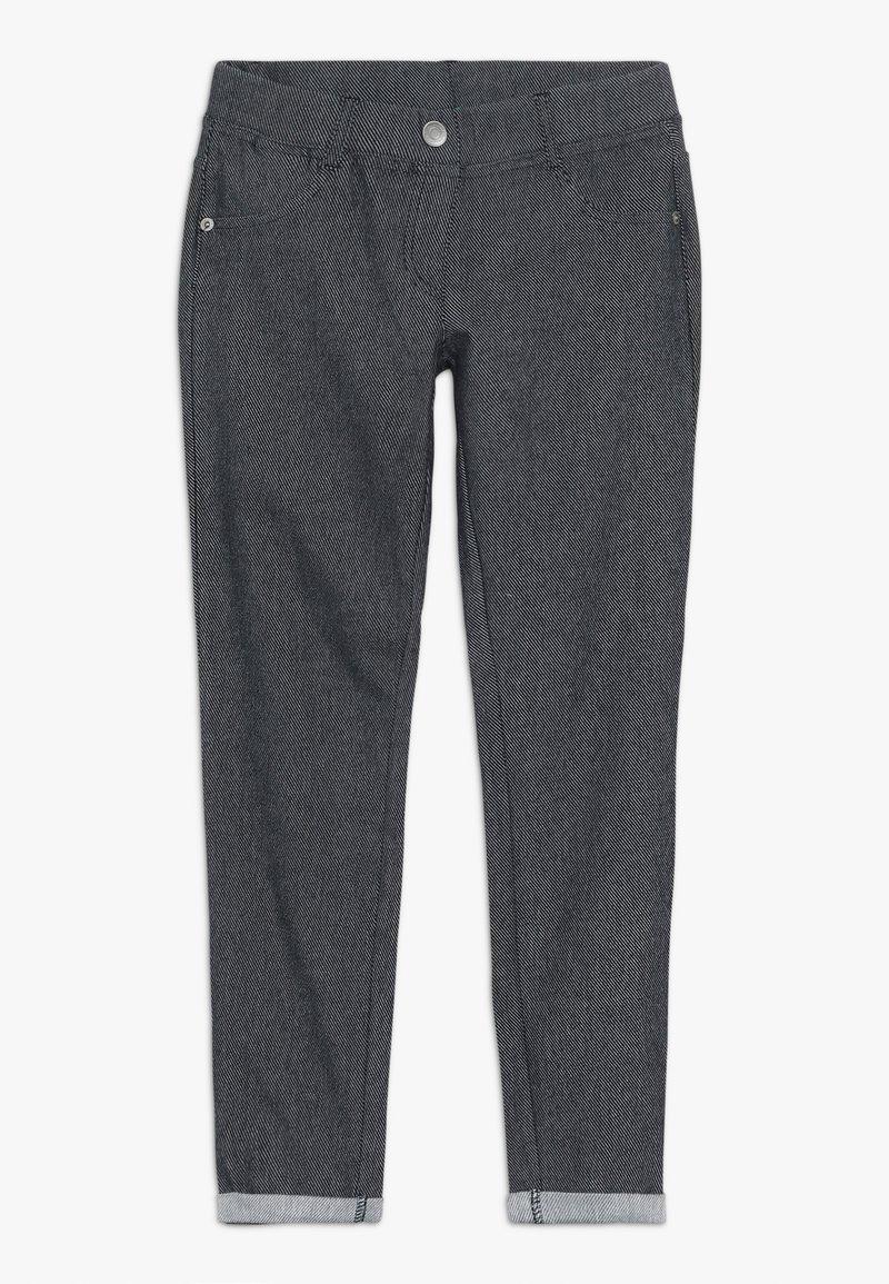 Benetton - TROUSERS - Spodnie materiałowe - dark blue