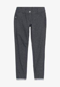Benetton - TROUSERS - Spodnie materiałowe - dark blue - 2