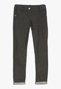 Benetton - TROUSERS - Spodnie materiałowe - black - 0
