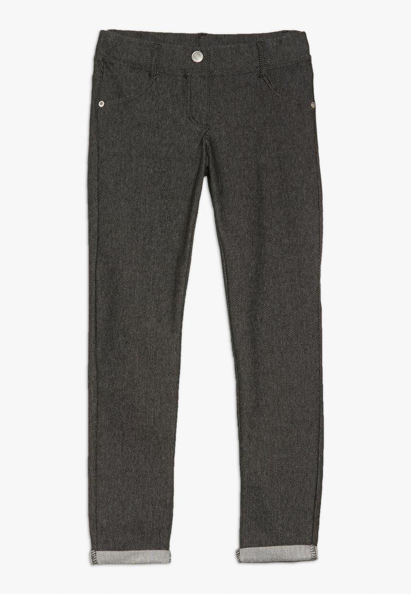 Benetton - TROUSERS - Spodnie materiałowe - black