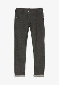 Benetton - TROUSERS - Spodnie materiałowe - black - 2