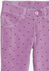 Benetton - TROUSERS - Kangashousut - purple - 3