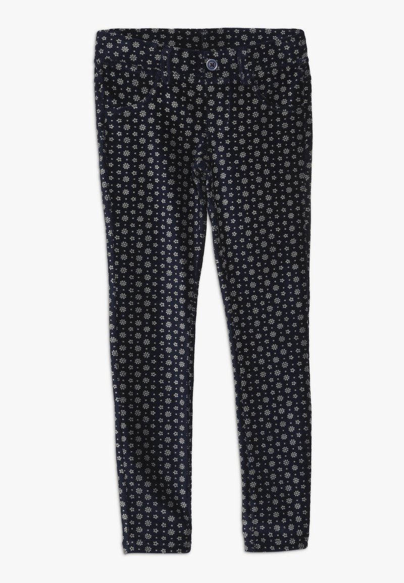 Benetton - TROUSERS - Pantaloni - dark blue