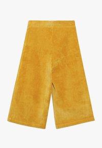 Benetton - LONG TROUSERS - Pantalones - mustard yellow - 1