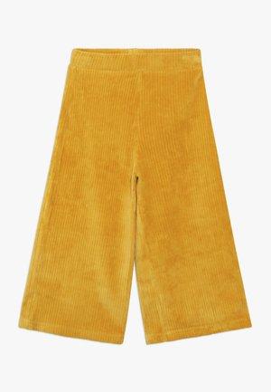 LONG TROUSERS - Kalhoty - mustard yellow