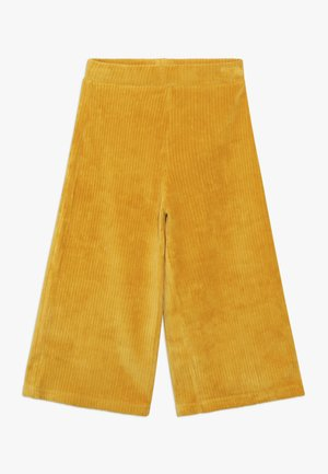 LONG TROUSERS - Pantalones - mustard yellow