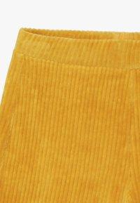 Benetton - LONG TROUSERS - Pantalones - mustard yellow - 3
