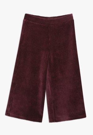 LONG TROUSERS - Trousers - bordeaux