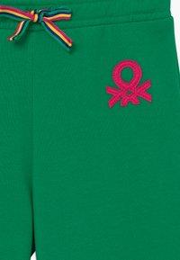 Benetton - Spodnie materiałowe - green - 3