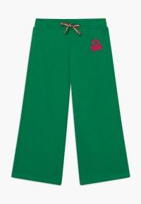 Benetton - Spodnie materiałowe - green - 0