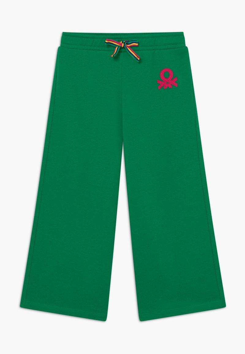 Benetton - Spodnie materiałowe - green