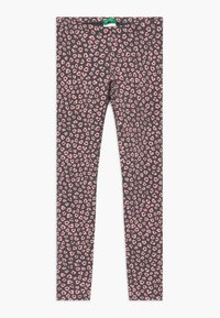 Benetton - Leggings - Trousers - grey/light pink - 0