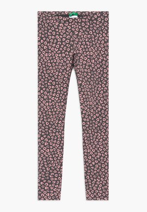 Leggings - Trousers - grey/light pink