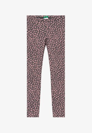 Legginsy - grey/light pink