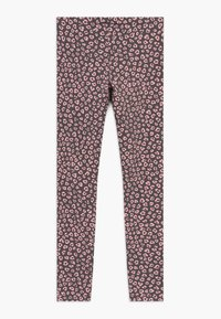 Benetton - Leggings - Trousers - grey/light pink - 1