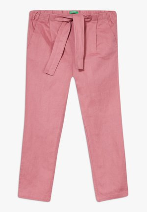 TROUSERS - Pantalon classique - mauve