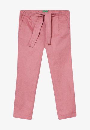 TROUSERS - Spodnie materiałowe - mauve