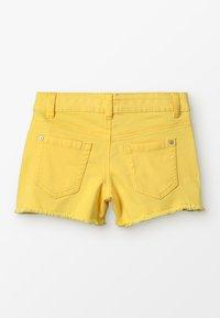 Benetton - BASIC - Jeansshort - yellow - 1