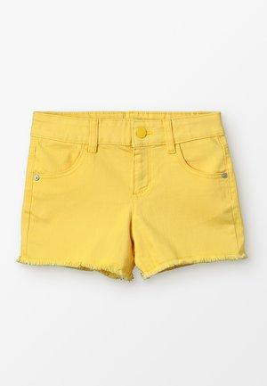 BASIC - Shorts vaqueros - yellow