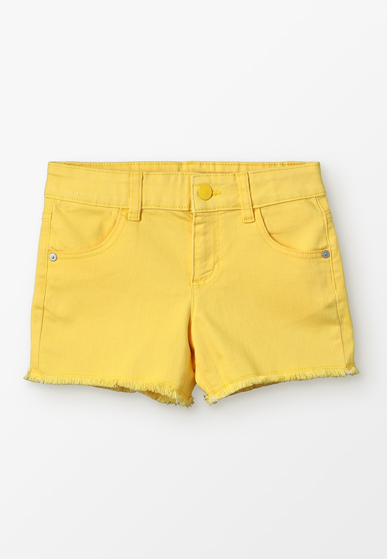 Benetton - BASIC - Jeans Shorts - yellow