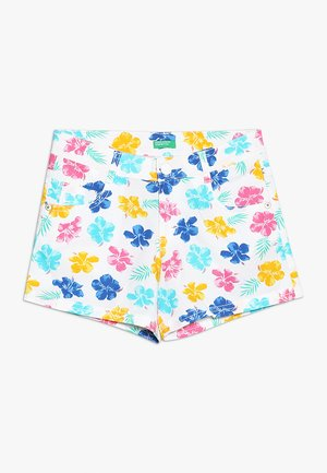 Shorts - white/pink