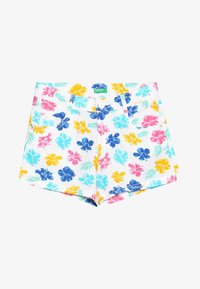 Benetton - Shorts - white/pink - 3