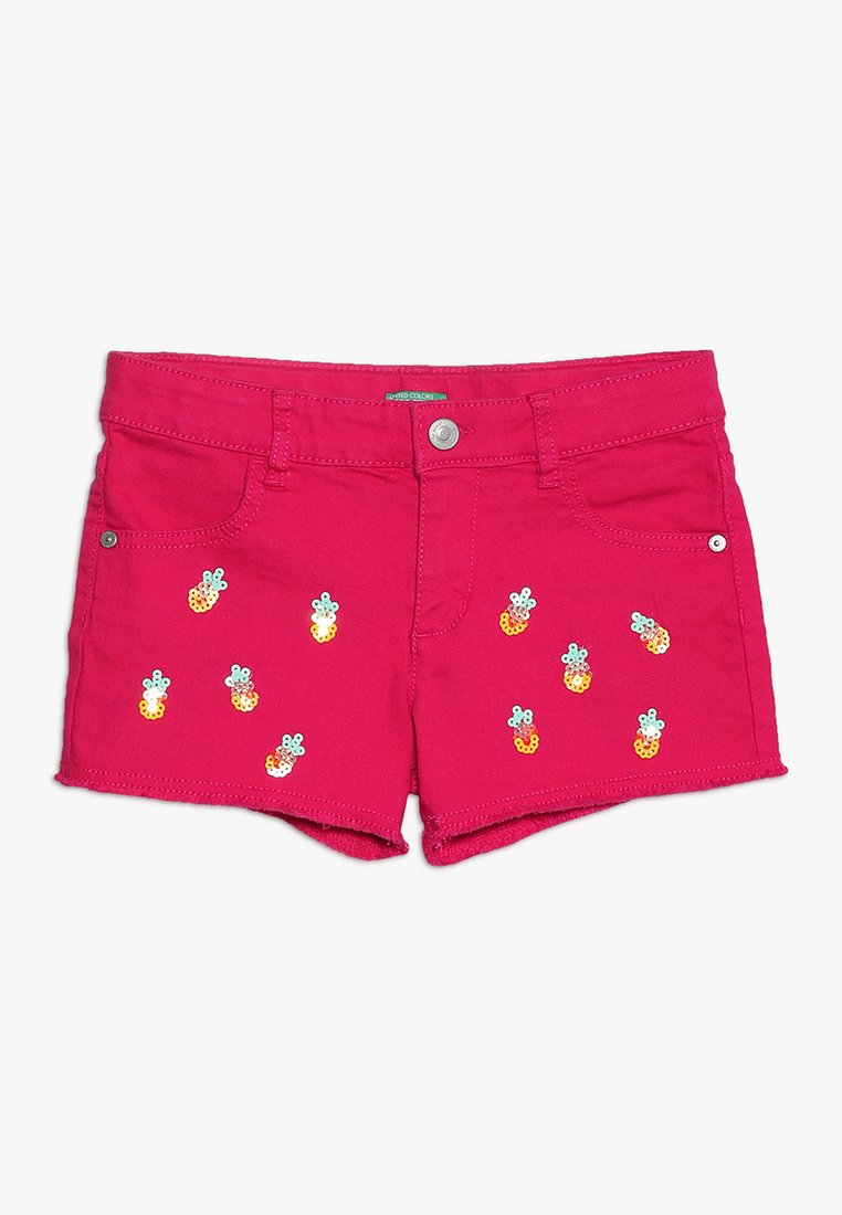 Benetton - Jeans Short / cowboy shorts - pink