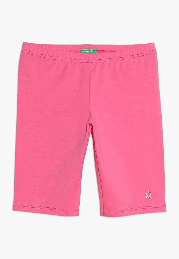 Benetton - BERMUDA - Kraťasy - pink