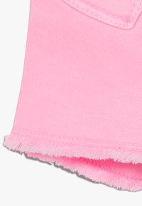 Benetton - Džínové kraťasy - pink - 2