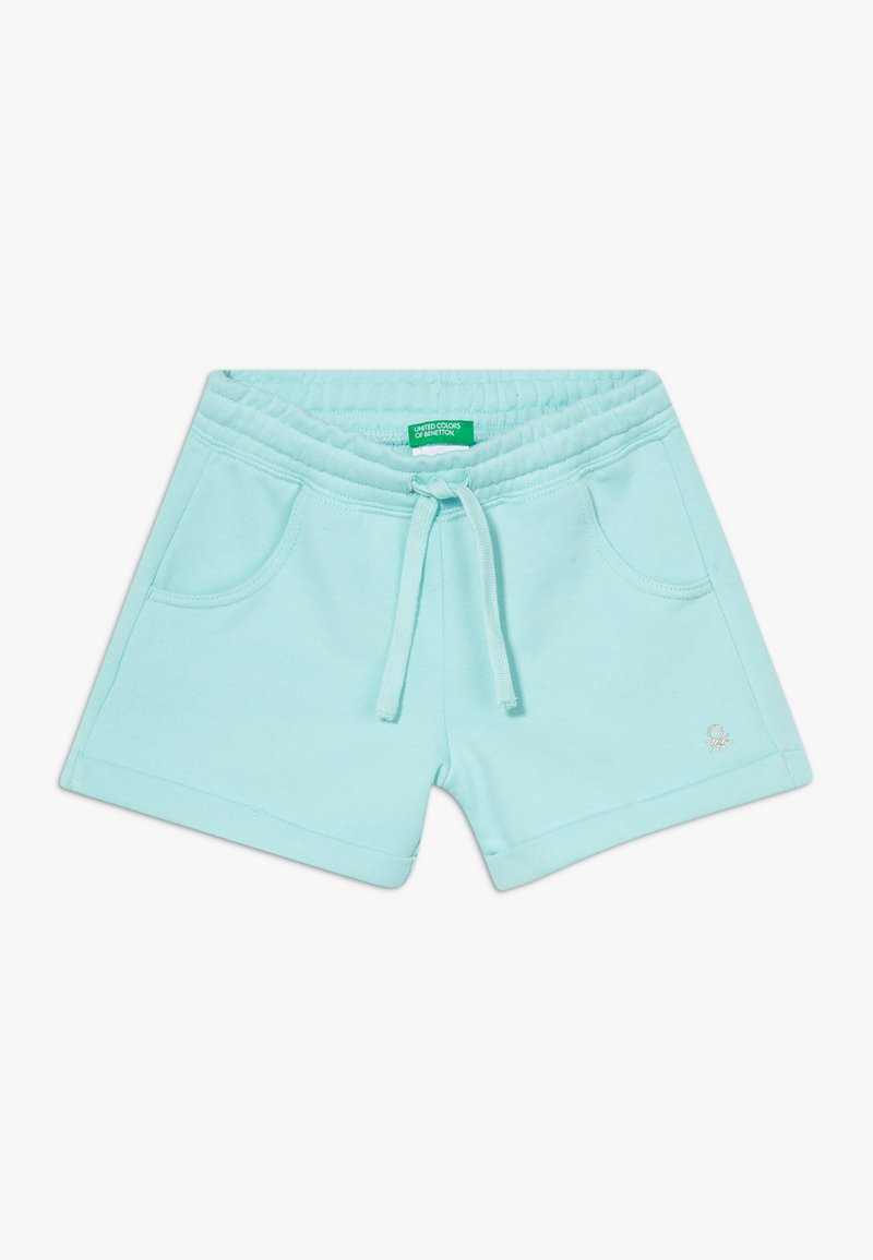 Benetton - Szorty - light blue