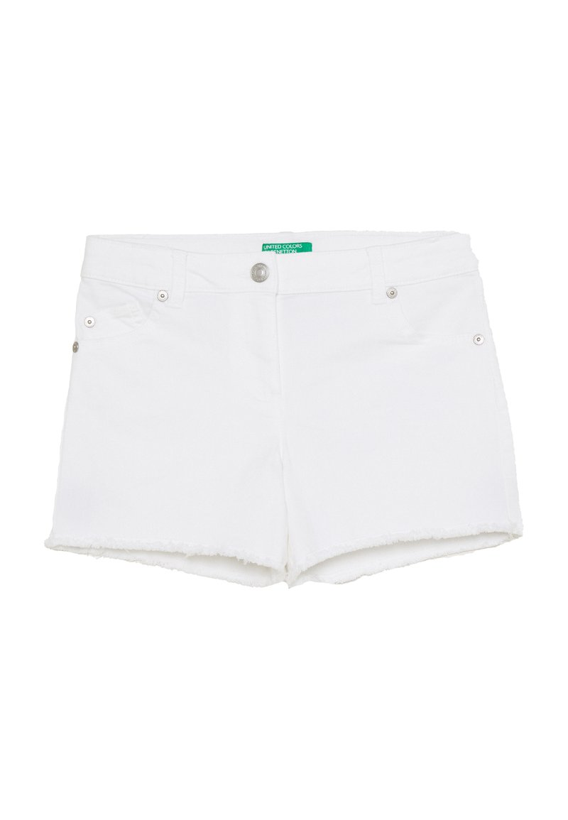 Benetton - Shorts vaqueros - white