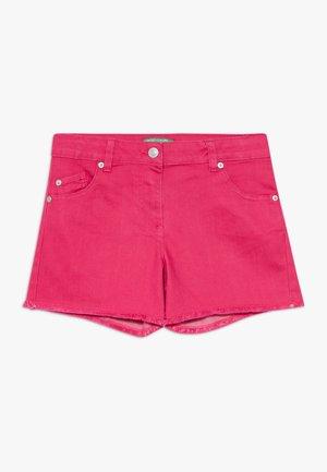 Džínové kraťasy - pink