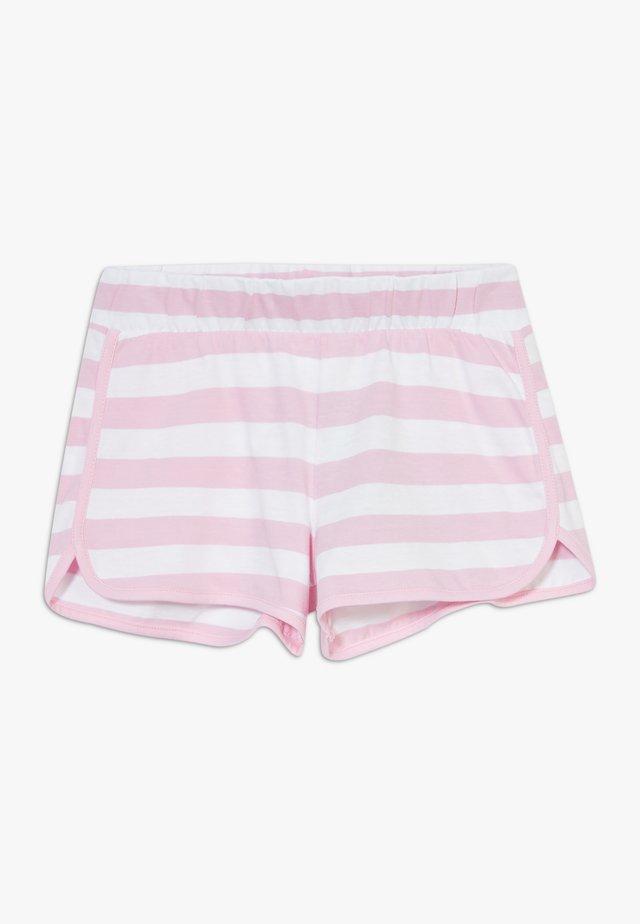 Shorts - pink/white