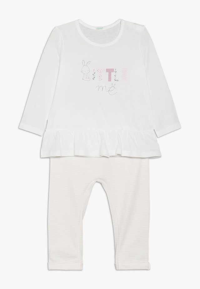 TROUSERS SET - Broek - light pink