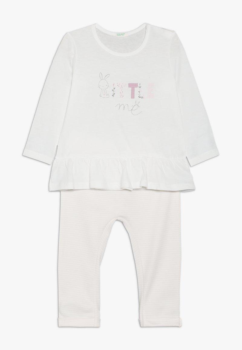 Benetton - TROUSERS SET - Kalhoty - light pink