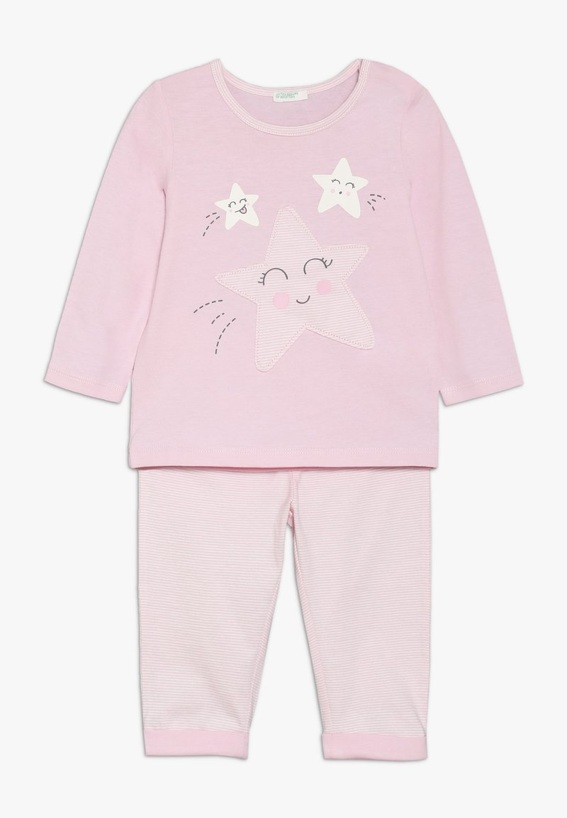 Benetton - TROUSERS SET - Trousers - light pink