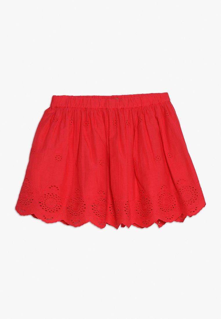 Benetton - SKIRT - Spódnica trapezowa - red