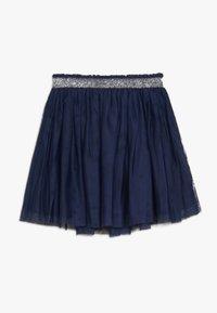 Benetton - SKIRT - A-snit nederdel/ A-formede nederdele - dark blue - 1